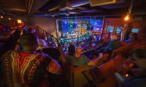 Nectar Lounge - Gallery - Stage View from Mezzanine